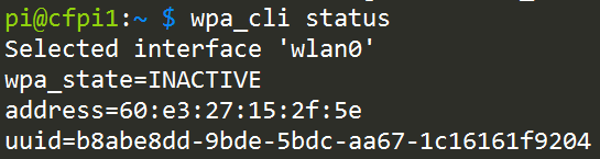 Wifi on the Command Line on a Raspberry Pi